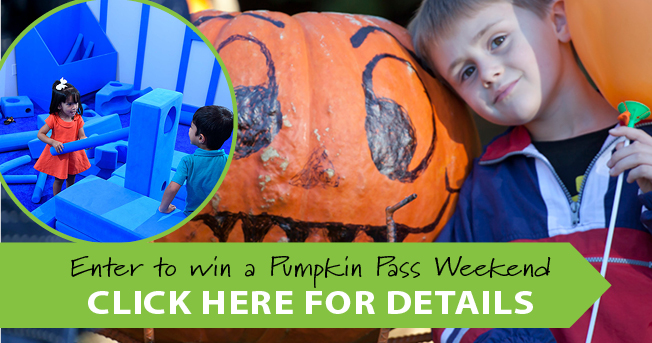 Pumpkin Pass Weekend Giveaway