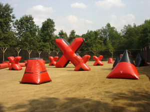 Battle Zone Paintball XBall Arena