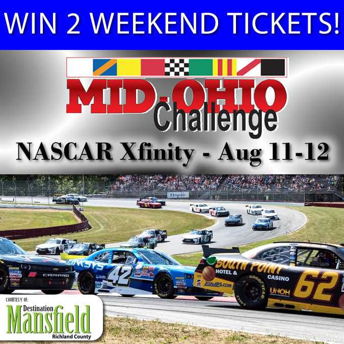 Enter for a Chance to Win to Weekend Tickets to Mid-Ohio