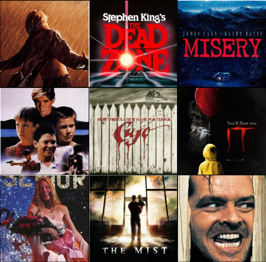 A Year of Stephen King Classic Films