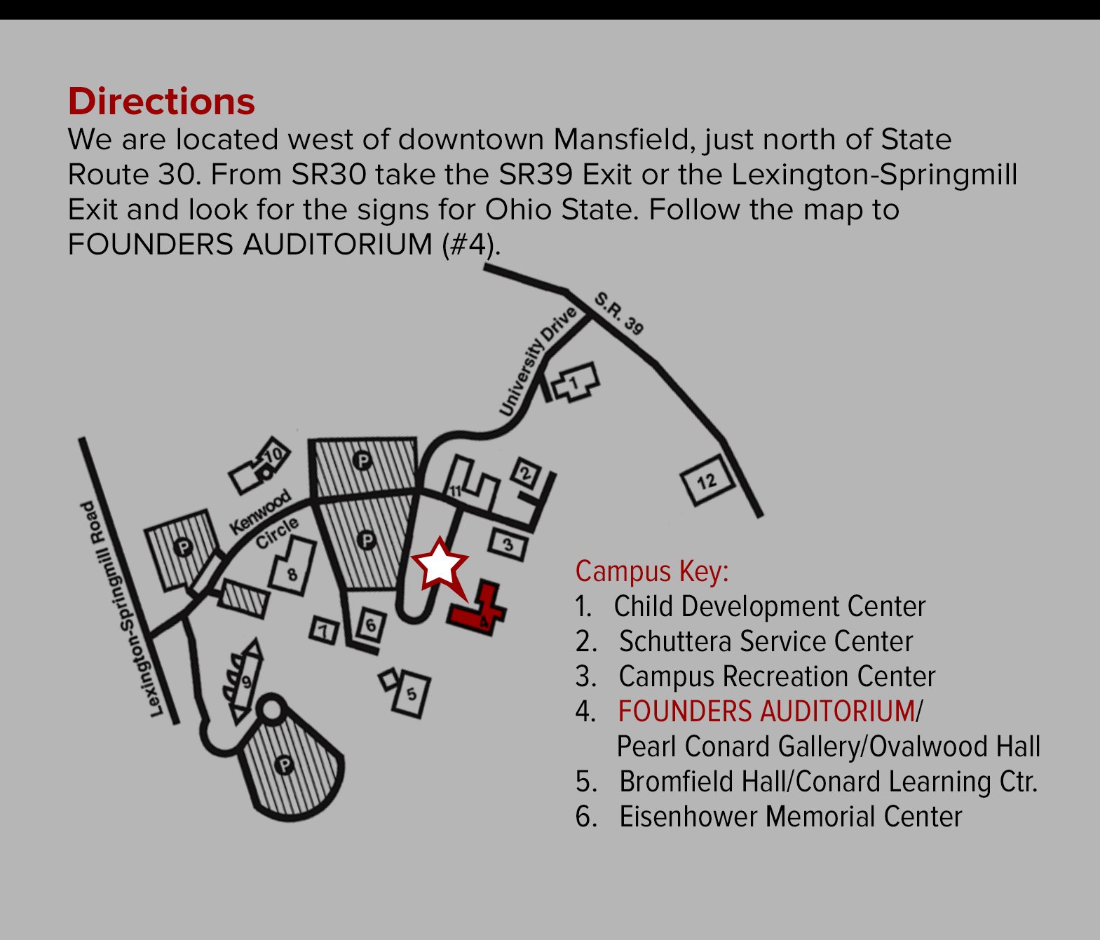 The Ohio State University At Mansfield Theatre & Stage ... Osu Columbus Campus Map on osu map columbus ohio, u of m campus map, ohio university map, columbus state community college campus map, osu smith lab map, osu medical center map, duke university campus map, mercer university main campus map, university of dayton campus map, ok state campus map, osu map.pdf, osu rv parking map, tiffin university campus map, ohio state map, university of michigan campus map,