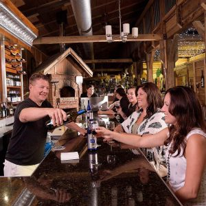 1285 Winery Bartender serving customer
