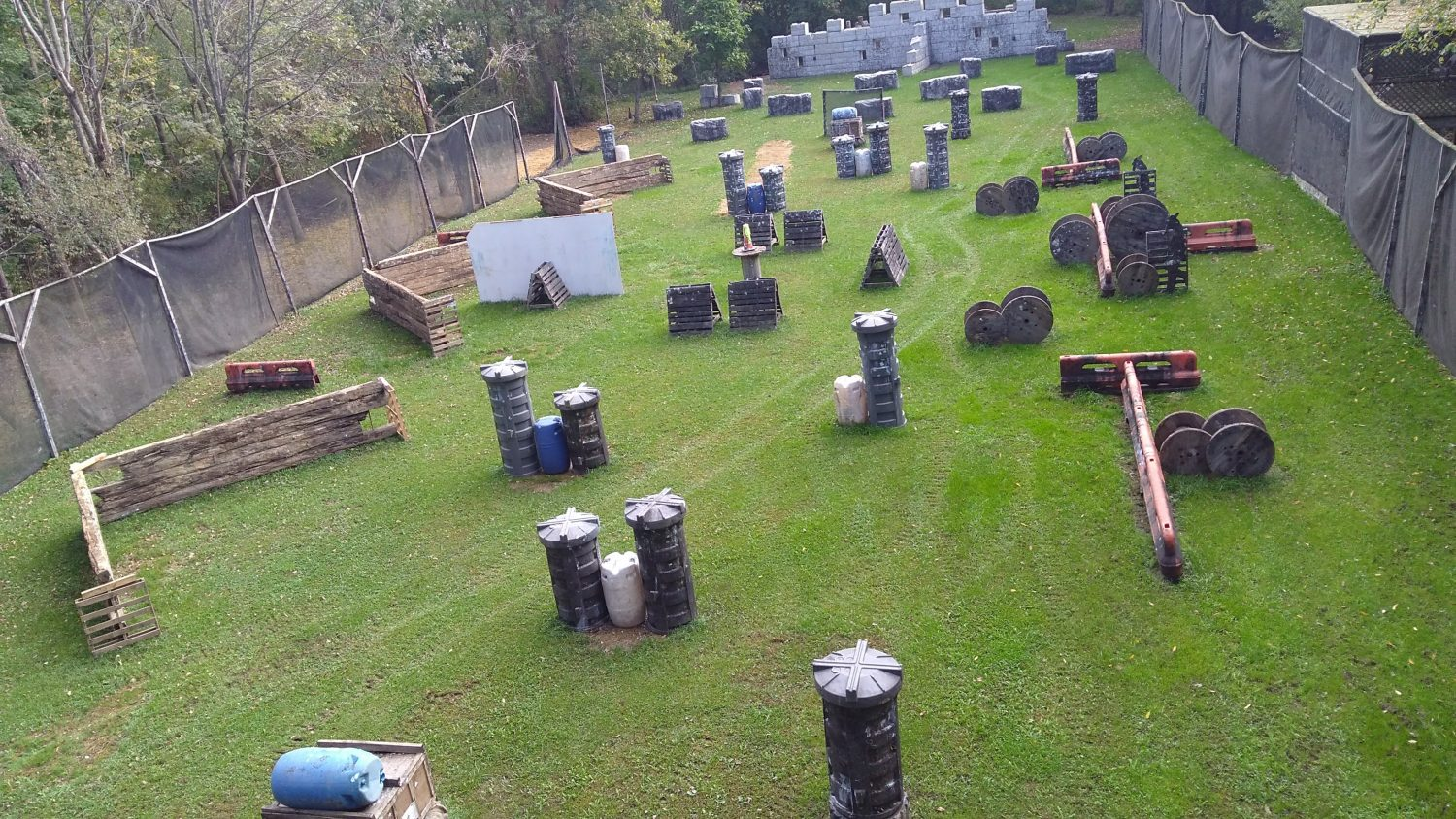 Battle Zone Paintball Park III
