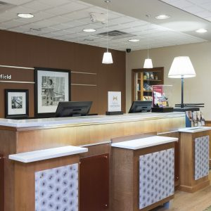 Hampton Inn & Suites Front Desk