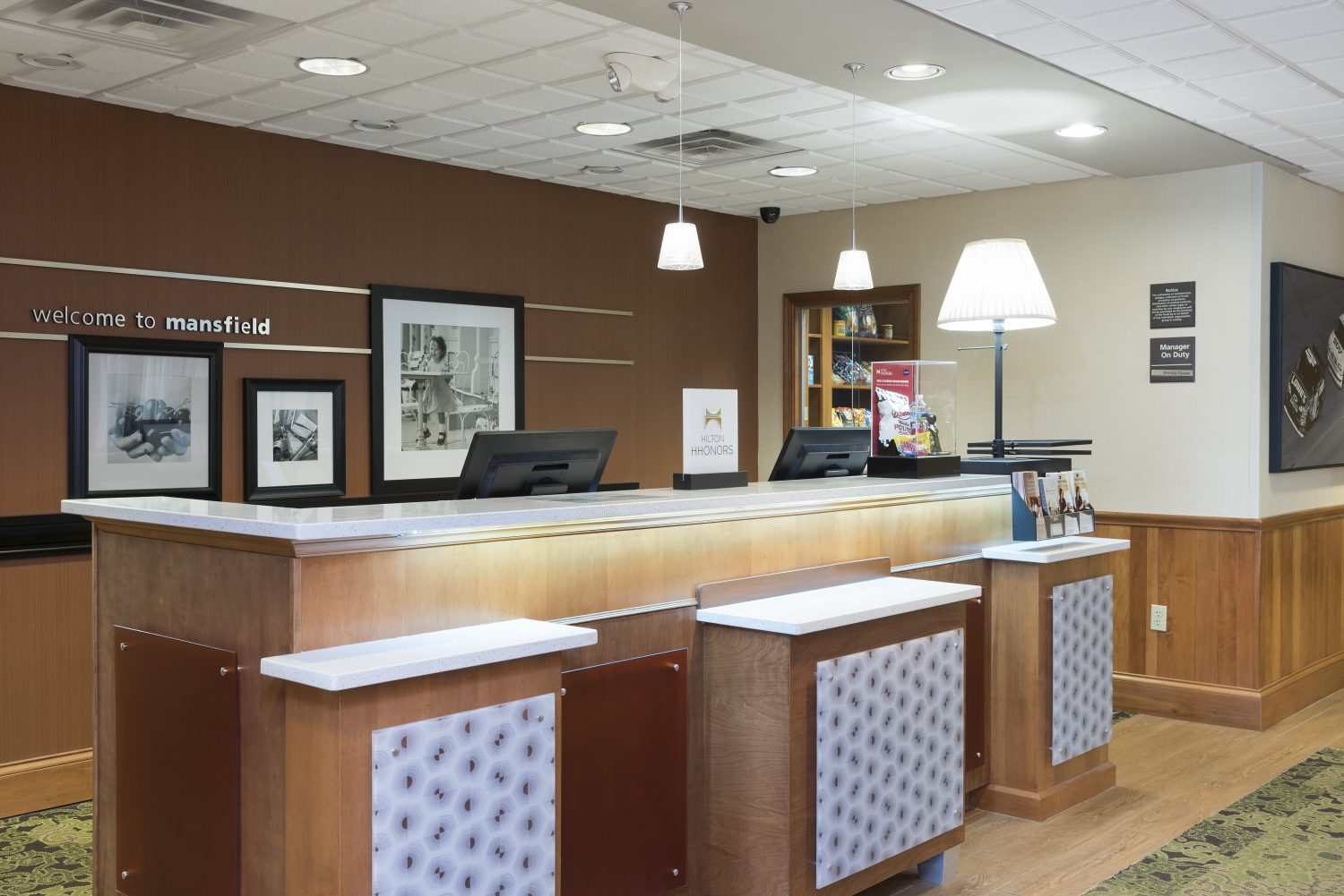 Hampton Inn & Suites Mansfield – South