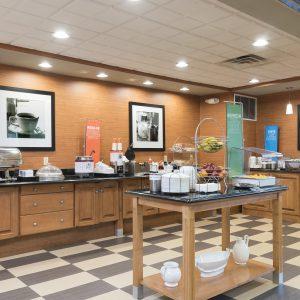 Hampton Inn & Suites Breakfast