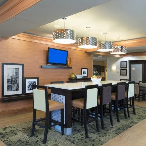 Hampton Inn & Suites Lobby