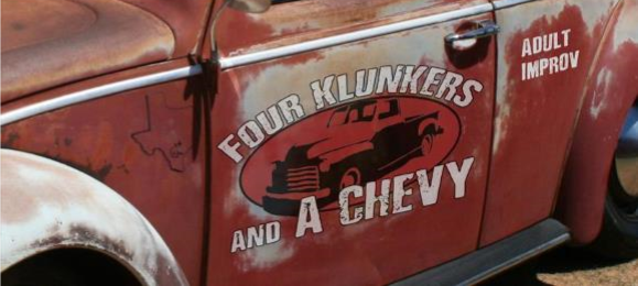 Four Klunkers and a Chevy