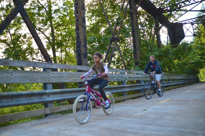 Mansfield Biking Trails