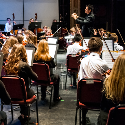 Mansfield Symphony Youth String: Spring Concert