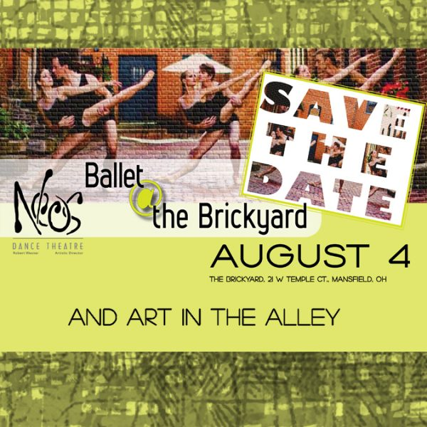 Neos Ballet @ the Brickyard and Art in the Alley