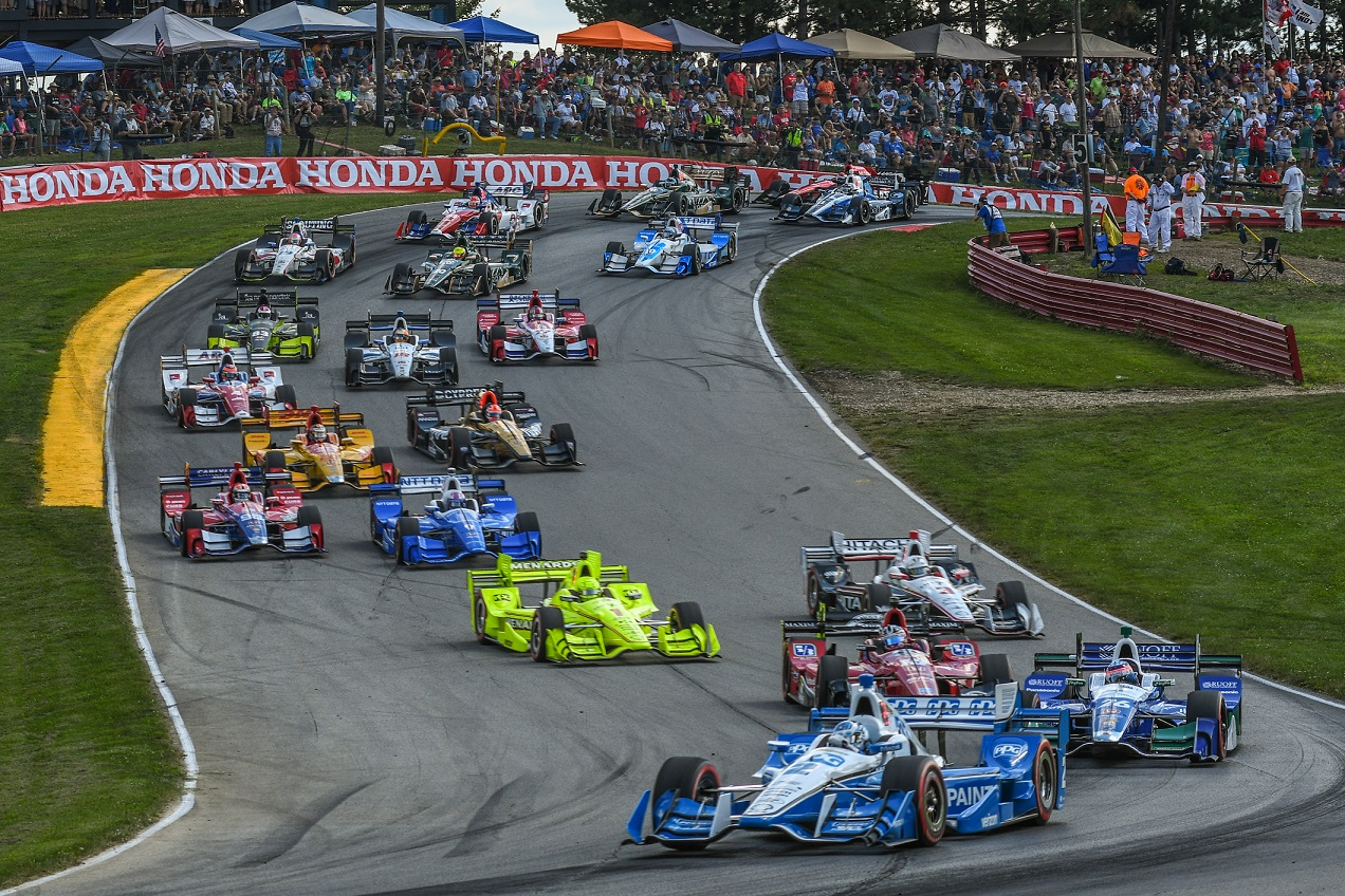 2018 Racing Schedule: Two Tracks, One Road Trip.