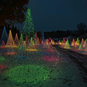 Christmas at Kingwood Center Gardens