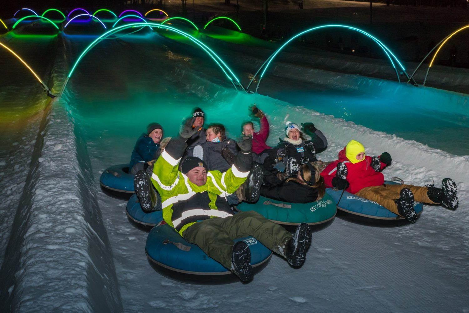 Glow Tubing at Snow Trails is Screaming Good Fun