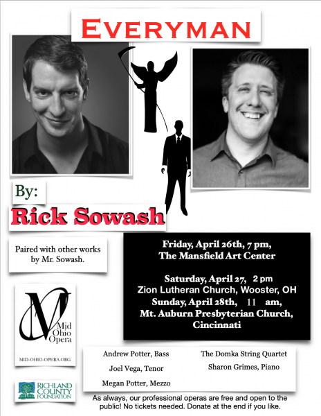 The Vocal Music of Rick Sowash at The Mansfield Art Center