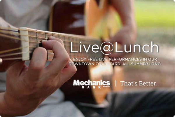 Live@Lunch Summer Courtyard Series