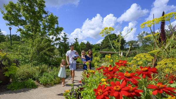 Free First Monday at Kingwood Center Gardens