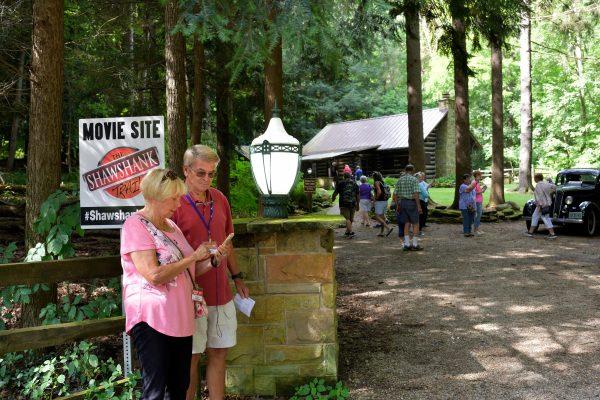 Pugh Cabin at Malabar Farm State Park (Opening Scene)