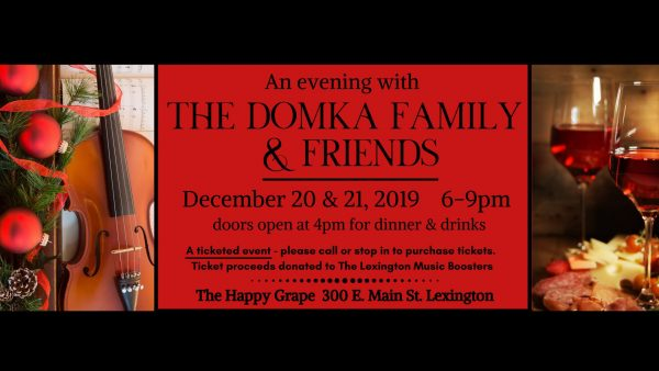 An Evening with The Domka Family & Friends