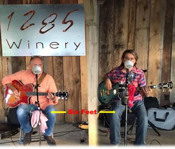 EKG at 1285 Winery (Blueberry Patch)