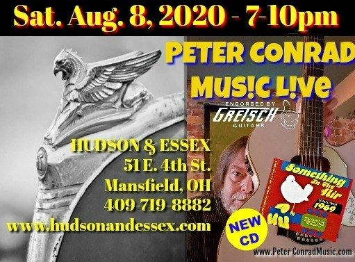 Live music – Peter Conrad at Hudson and Essex