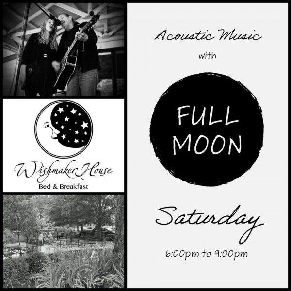 Welcome Acoustic Duo FULL MOON to the Wishmaker Patio