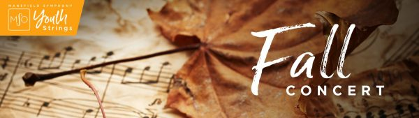 YOUTH STRINGS: FALL CONCERT at Mansfield Senior High School