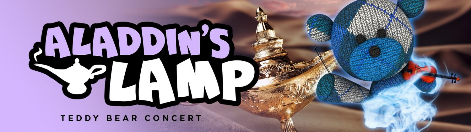 TEDDY BEAR CONCERT: ALADDIN'S LAMP at Theatre 166