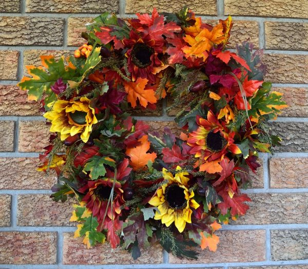 Fall Wreath at Kingwood Center