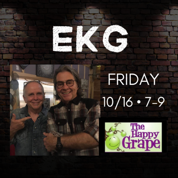 EKG Live at The Happy Grape