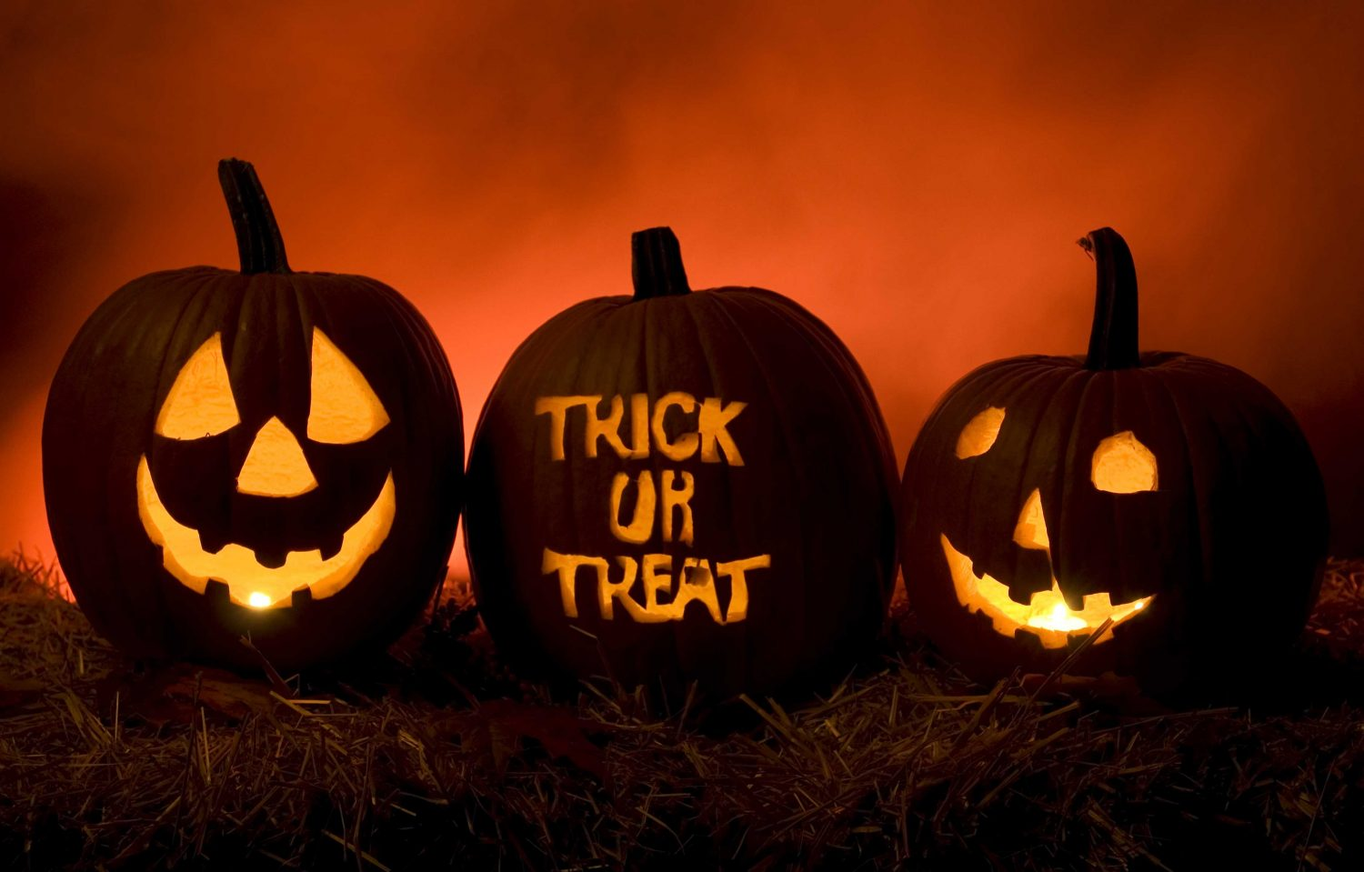 Trick-or-treat times for local communities