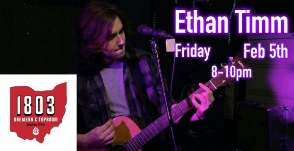 Ethan Timm at 1803 Brewery & Taproom