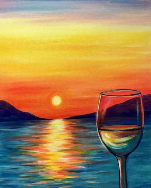 Paint & Sip at The Vault Wine Bar