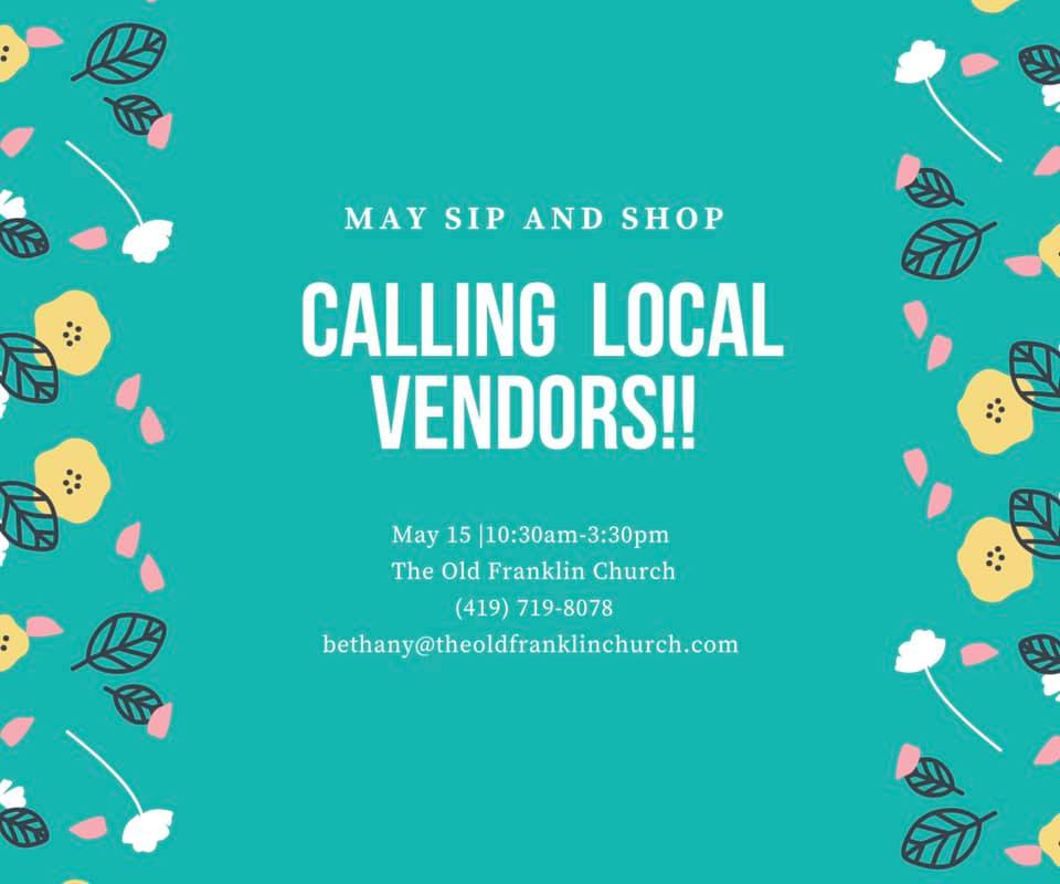 Sip and Shop at The Old Franklin Church