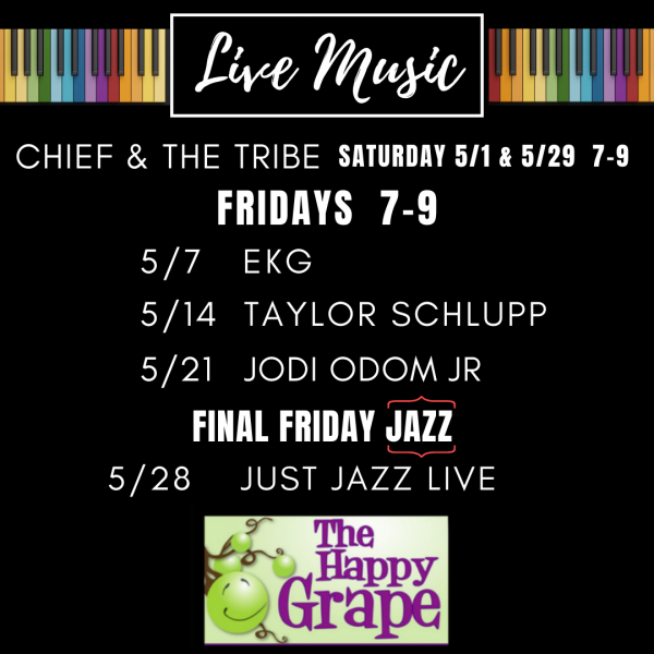 Live Music with EKG at The Happy Grape