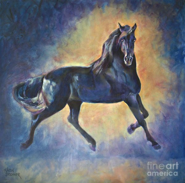 KAREN BRENNER- PAINTER OF ANIMALS AND MOMENTS at Richland Carrousel Park