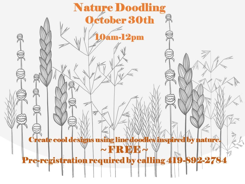 Nature Doodling at Malabar Farm State Park
