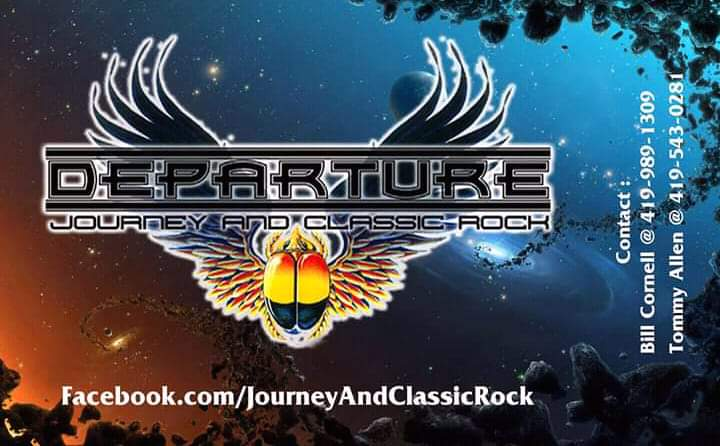 Departure-Journey and Classic Rock at The Vault Wine Bar