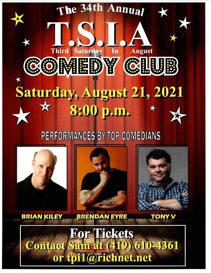 34th Annual T.S.I.A. Comedy Show
