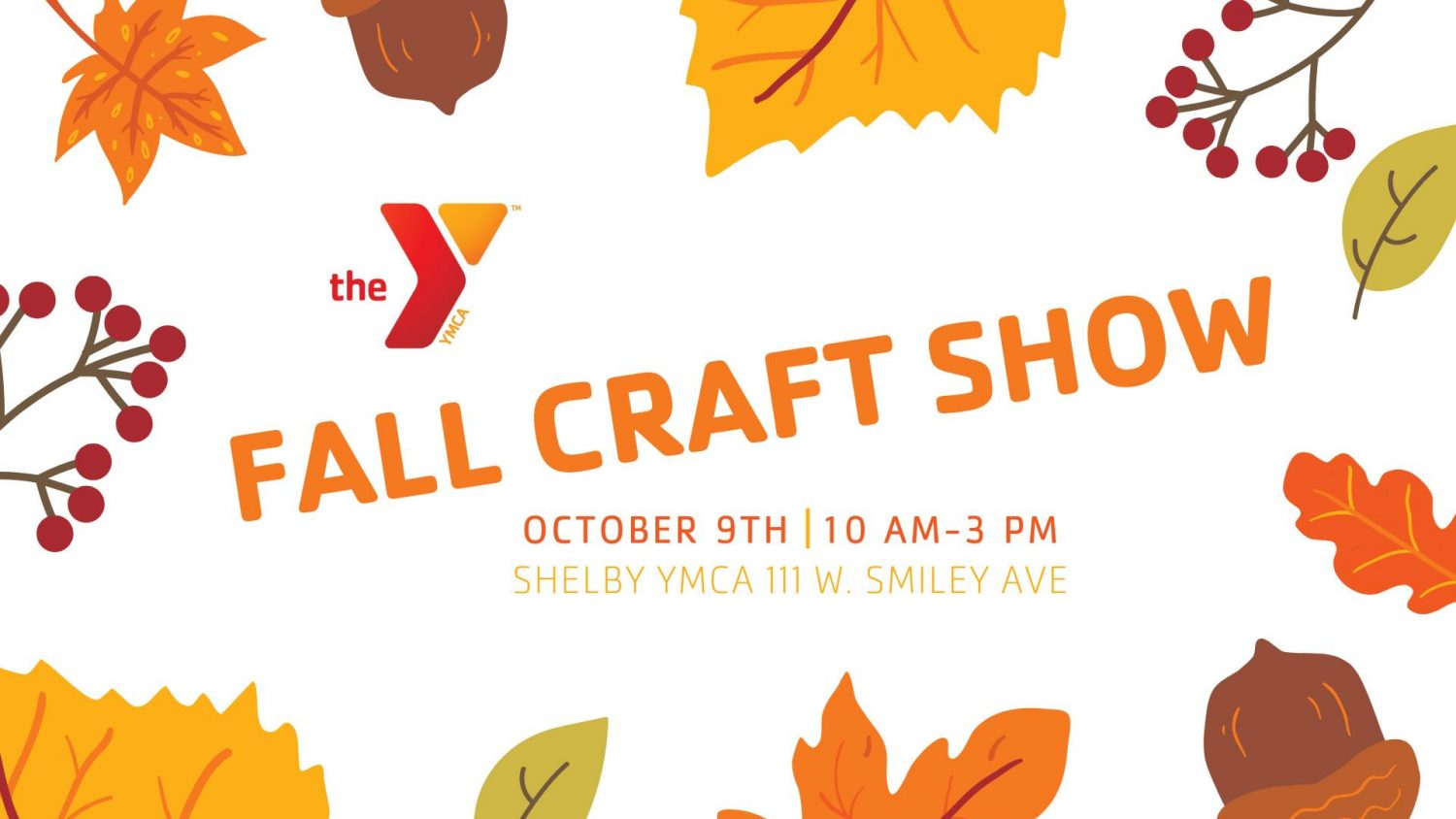 Fall Craft Show Shelby YMCA