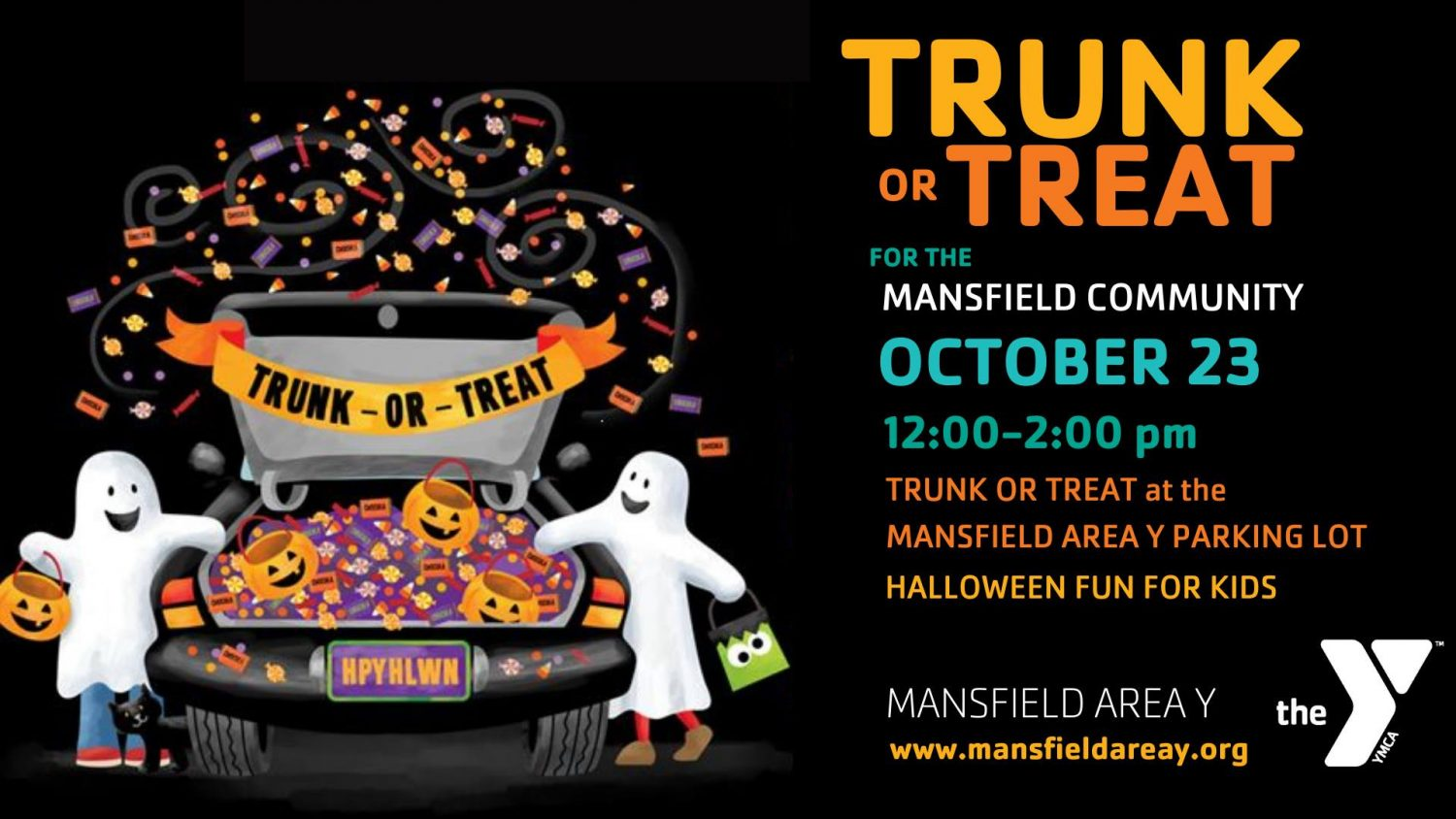 Annual Trunk or Treat at Mansfield Area Y