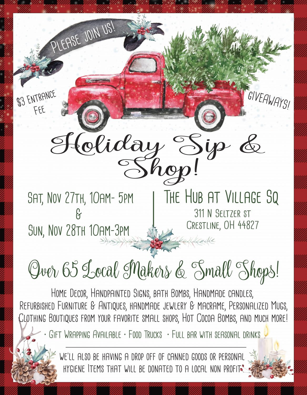 2nd Annual Holiday Sip & Shop