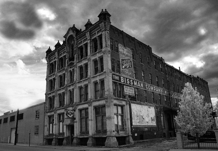 Public Ghost Walk at Haunted Bissman Building
