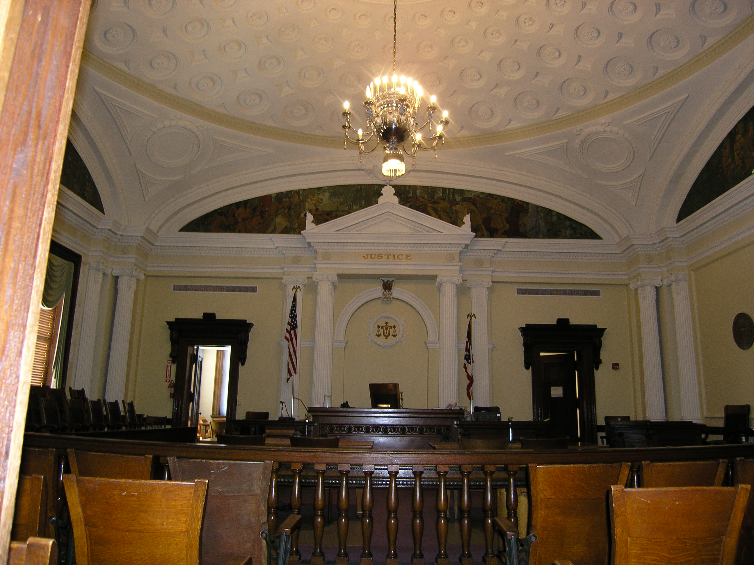 Andy's Conviction (Wyandot County Courthouse)